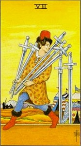 VII of Swords