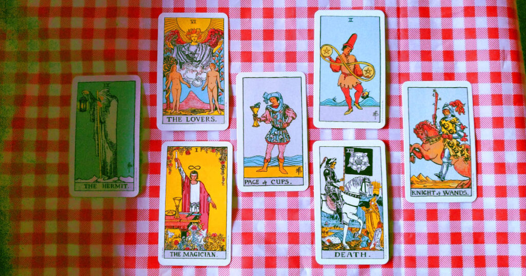Aaron Epperson's Tarot reading