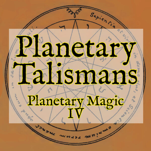 Planetary Talismans (PM4)