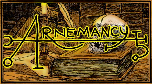 Arnemancy Spooky Logo