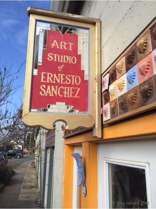 Ernesto Sanchez art studio