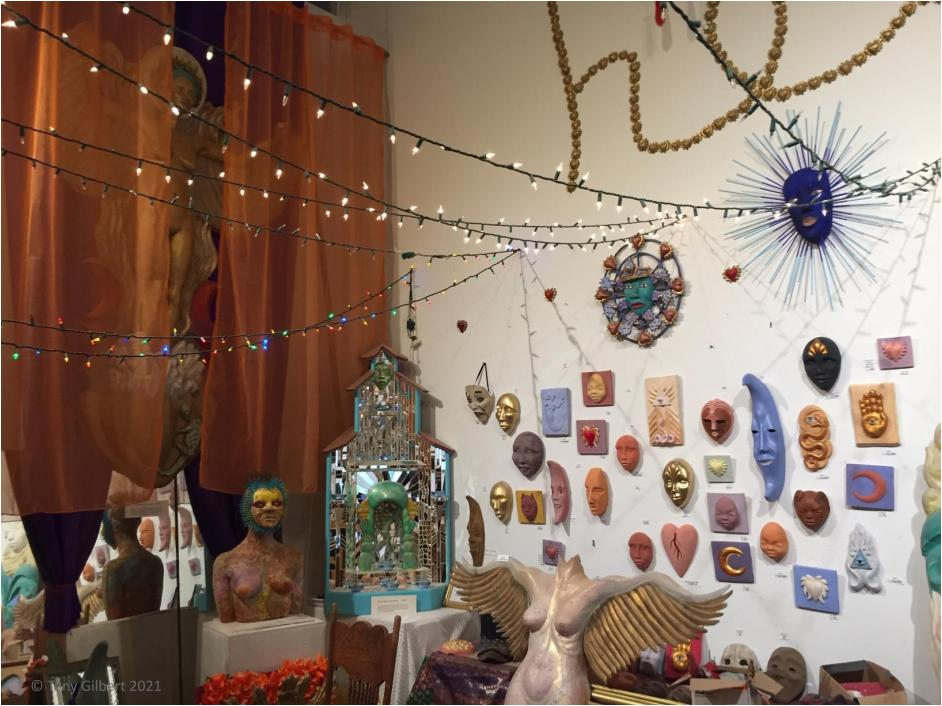 Ernesto Sanchez's studio